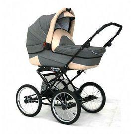 Carucior bebelusi 2 in 1 Swing Retro LX Jeans  - FRK-SWR-LXJ