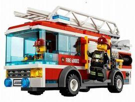 Camion de pompieri LEGO City  - JDL60002