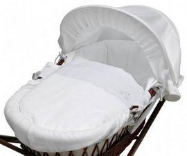 Cos bebe My Little Stars  - White Waffle, Dark Wicker  - MLS-CRMWHT