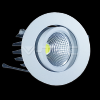 3W Spot LED Downlight COB Rotund - Alb Cald 3000K