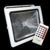 30w led reflector  v-tac  premium rgb cu telecomanda