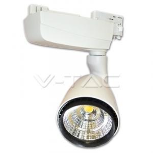 25W Lampa LED COB Pe Sina EuroTrack  Alb Cald 3000K