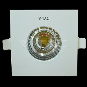 6W Spot LED - COB Patrat Chip Alb Cald 3000K IP65
