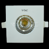 6W Spot LED - COB Patrat Chip Alb Cald 3000K IP65