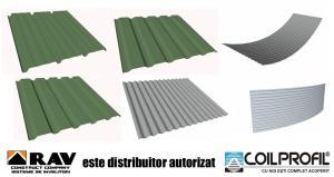 Tabla aluminiu cutata trapezoidal