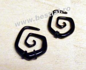 Taper spiral negru model 4 (AC321)(FTC)