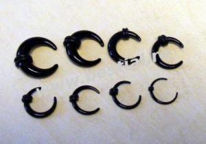 Taper negru semiluna (08323)(FTC)