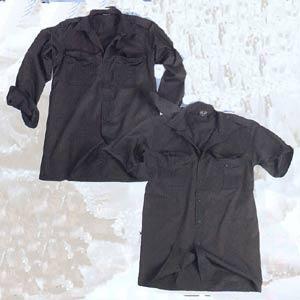 Camasa neagra cu maneca scurta