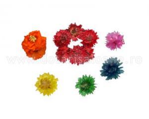 Flori uscate nail art