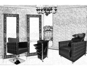 Pachet Dotare Salon Black Baroque Fashion