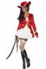Costum de pirat rosu
