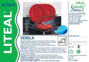 Detergent vesela manual