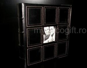 Album foto din piele neagra