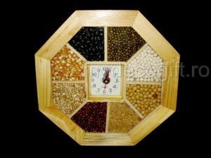 Ceas lemn seminte