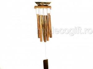 Clopotei tubulari din lemn