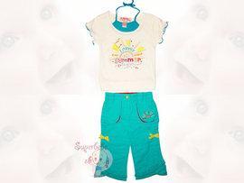 Costumas bumbac 100%  Summer - Haine copii