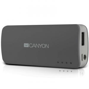 Baterie externa Canyon 4400 mAh Dark Grey