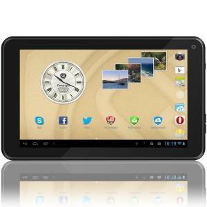 PRESTIGIO MultiPad 7.0 Ultra+ (7.0 inch LCD,800x480,4GB,Android 4.2,1GHz,512MB,3200mAh,Webcam,microUSB,Wi-Fi) Red Retail