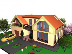 Case structura otel modele case