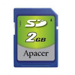 Card sd apacer 2 gb