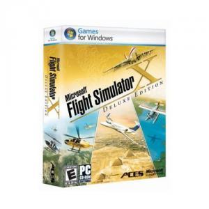Joc flight simulator x deluxe