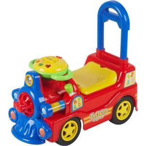 Locomotiva pentru copii Loco Rosu Baby Mix BM888R B330757