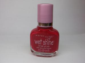 Oja Maybelline Wet Shine - Rainyday red