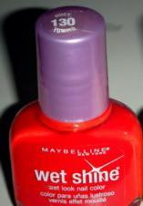 Oja Maybelline Wet Shine - Juicy Tomato