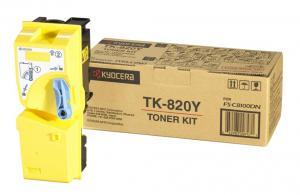 Toner TK-820Y yellow