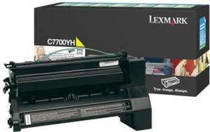 Toner 00c7700yh yellow