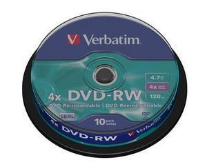 Dvd+rw 4x 4.7gb