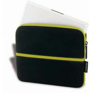 "Geanta notebook 11.6"" Netbook Skin, neoprene, black/green, TSS133EU, Targus"