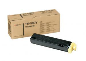 Toner KYOCERA TK-500Y yellow