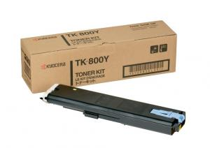Toner tk 800y yellow