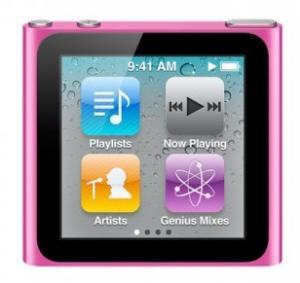 MP3 Player APPLE COMPUTER iPod nano 8GB Pink 6th