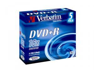 Dvd+r 16x 4.7gb slimcase