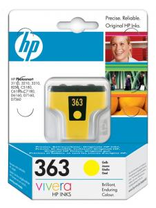Cartus hp 363 yellow c8773ee