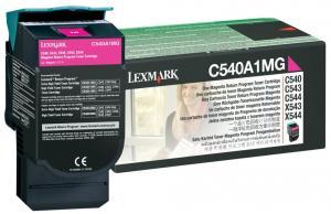 Toner lexmark 0c540a1mg magenta