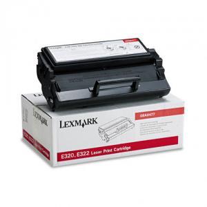 Toner negru Lexmark E320/E322, 6000 pg, 08A0477, Lexmark