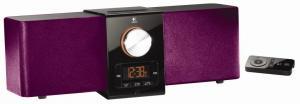 Boxe LOGITECH Pure-Fi Express Plus Pink, Dock -Adapter pt iPhone si iPod  (980-000506)