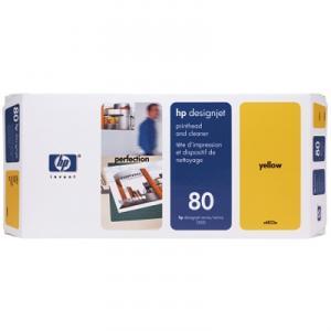 + printhead C4823A yellow
