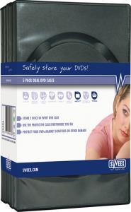 Carcase dvd 4 buc
