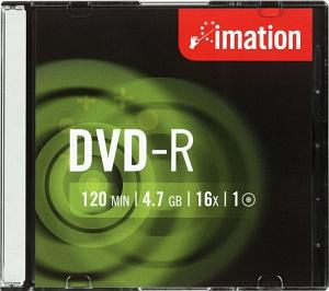 Dvd+r 16x 4.7gb slim case