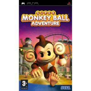 Super Monkey Ball Adventure PSP