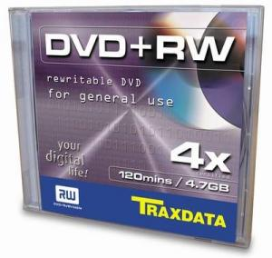 Dvd+rw 4x 4.7gb jewel case