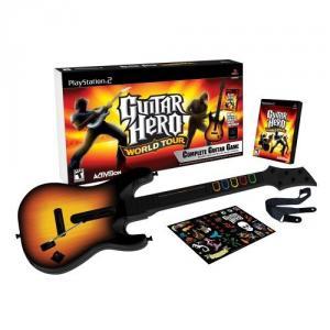 Guitar Hero: World Tour - Guitar Bundle PS2
