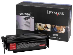 Toner lexmark 12a8320 negru