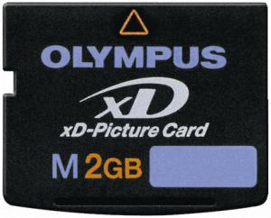 Olympus xd picture card