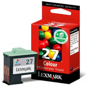 Cartus lexmark no27 010nx227e color