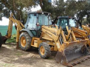 Buldoexcavator case 580 sle
